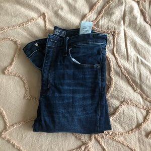 Abercrombie Simon High Rise Skinny Jeans